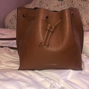 Calvin Klein crossbody bucket bag